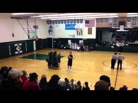 Selkirk High School Rangers cheerleaders SHS