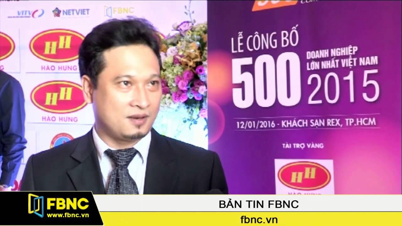 FBNC – Công bố top 500 doanh nghiệp lớn nhất Việt Nam