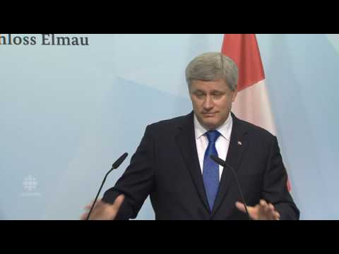 Stephen Harper Agrees to a phasing to a non-Carbon Economy In Oil sands by 2100 @ G7 2015