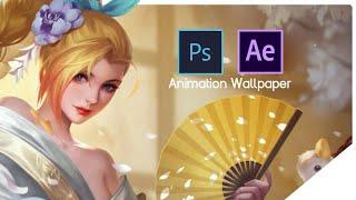 Ảnh động Airi - Bạch Kiemono   AOV Animation Wallpaper