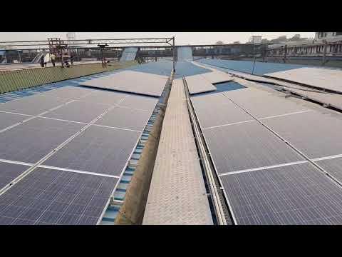 Solar Power Lights Up Hazrat Nizamuddin, New Delhi, Anand Vihar & Delhi Junction Railway Stations