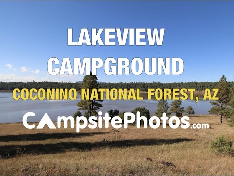 Lakeview Campground, Coconino National Forest, Arizona Campsite Photos
