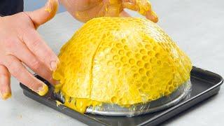 [새 빗이 또?] 노란 초콜릿을 얹으면, 케이크가 들려…