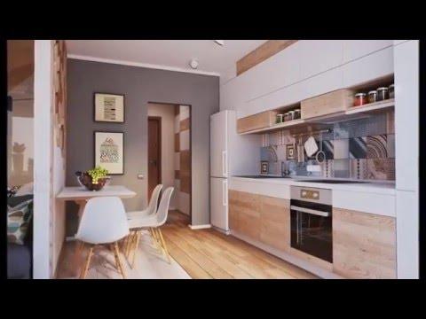 Квартира 40 кв. м  Дизайн однокомнатной квартиры 40 кв м