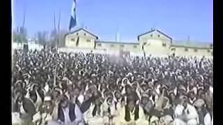mehmood khan achakzai addressing a huge public gathering at chaman regarding apdm