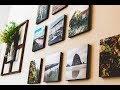 Room Decor l Reusable Photos printed off your phone l Mixtiles Review