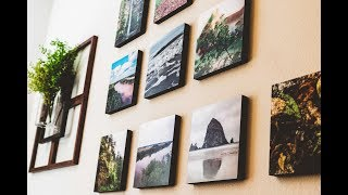 Room Decor l Reusable Photos printed off your phone l Mixtiles Review