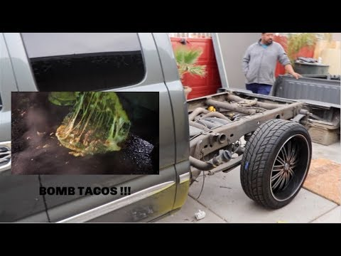 prepping my truck for C-notch + BOMB TACOS !!