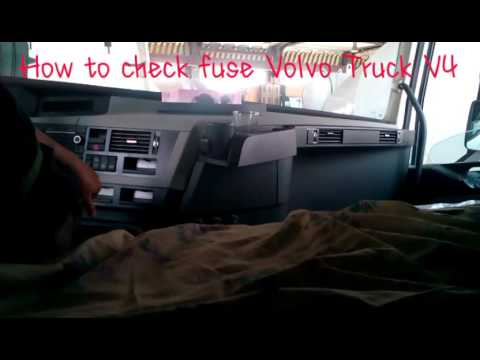 2014 Volvo S60 Fuse Diagram Volvo Truck Quot V4 How To Check Fuse And Relay Quot Youtube