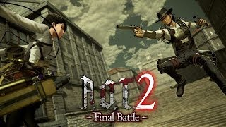 Attack on Titan 2 - Final Battle   Levi vs Military Police (Gameplay)