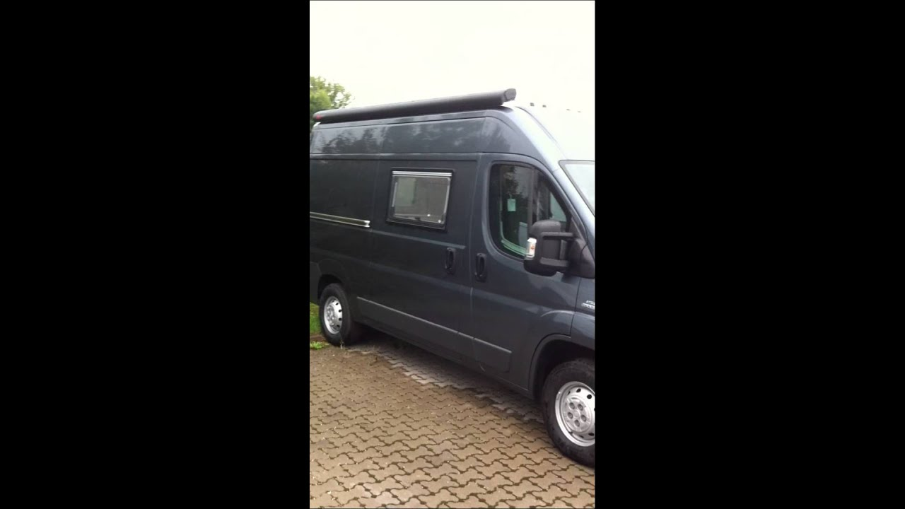 fiat ducato wohnmobil neues modell facelift 2014 youtube. Black Bedroom Furniture Sets. Home Design Ideas