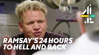 Here's 8 Minutes of Gordon Ramsay Shouting | Ramsay's 24 Hours to Hell and Back