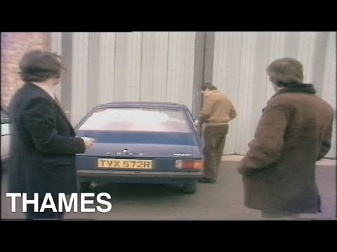 Car Security in the 1970's   Car Security   'Drive In'   1978