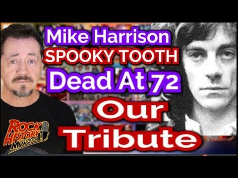 Mike Harrison Lead Singer Of Spooky Tooth Dead at 72 - Tribute