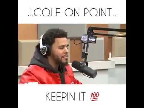 J.Cole on point in interview