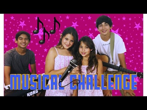 Musical Challenge ! Guess the song | Featuring Alan & Oliver Matheus | Mishu y Nat