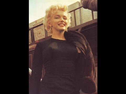 Marilyn Monroe RARE COLOR footage - Marilyn and Don Murray - Arrival in Arizona - All About Marilyn