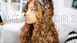 Angel Curls Hair Tutorial | Wet to dry | ad Thumbnail