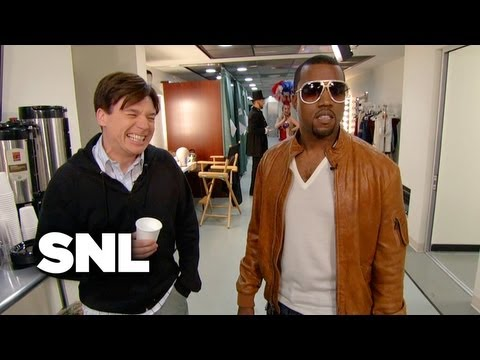 Backstage with Kanye West - Saturday Night Live