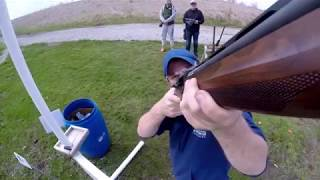 The University of Iowa Shooting Sports Club shooting Sporting Clays