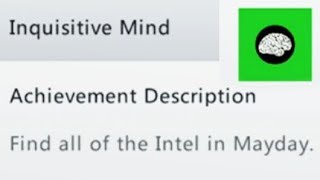 "Mayday INTEL Locations ""Inquisitive Mind"" Achievement Trophy Guide - Call of Duty Ghosts Extinction"