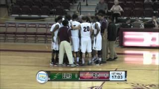 RIC Basketball vs Elms College 12-01-15