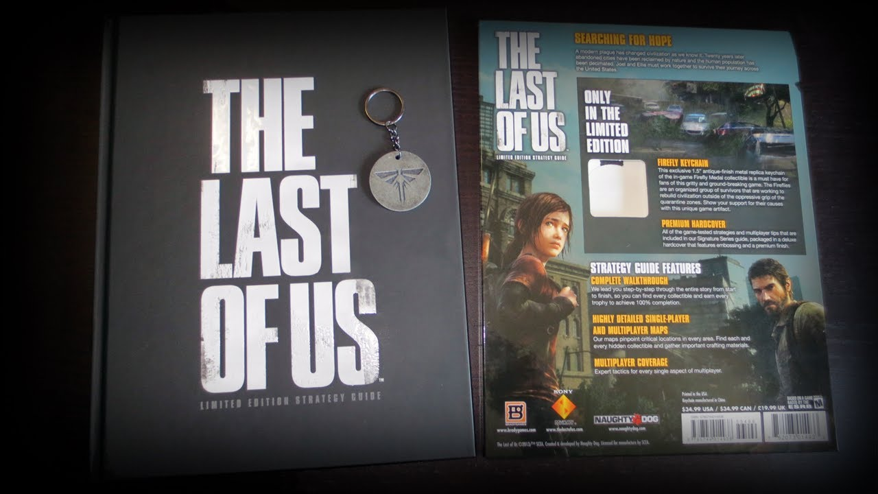 The Last Of Us Limited Edition Strategy Guide Pdf