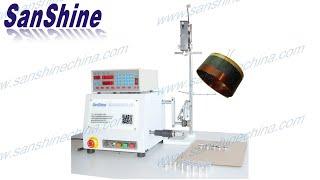 SS600V voice coil winder for the aluminum foil bobbin voice coils