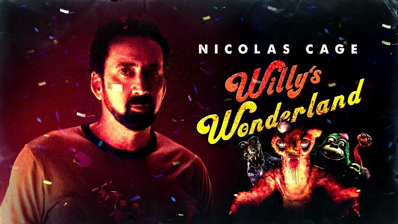 Theme Song for Nicolas Cage's Horror Movie 'Willy's Wonderland ...