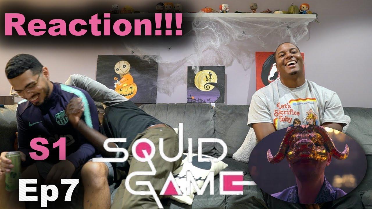 Download Squid Game Episode 7 Reaction!!!   VIPS