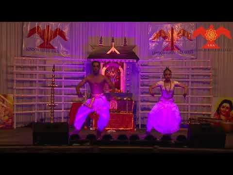 Classical Dance by Vinod Nair & Nikitha Krishna Iyer at London Hindu Aikyavedi Thattwa Sameeksha