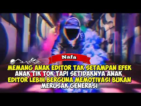 Quotes Anak Editor Youtube