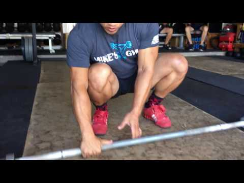 Weightlifting Basics: Grip Width in the Clean