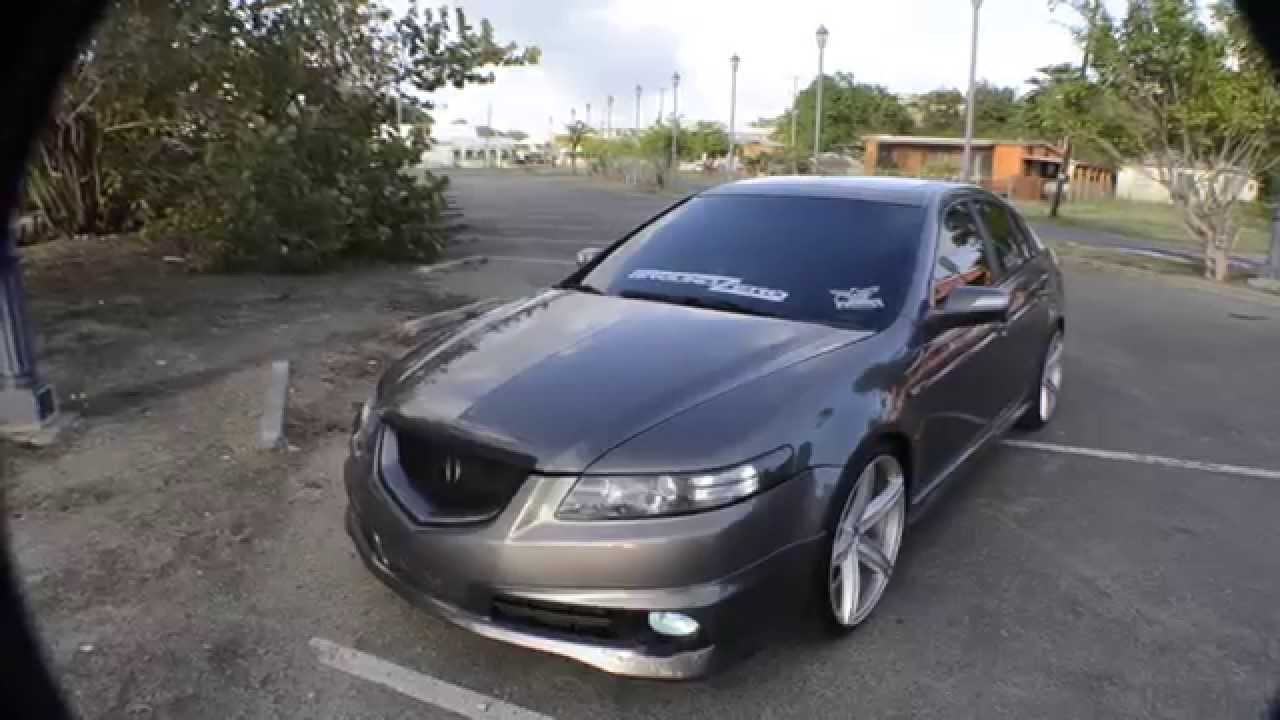 ground z3r0 aired out bagged 2008 acura tl type s accuair elevel