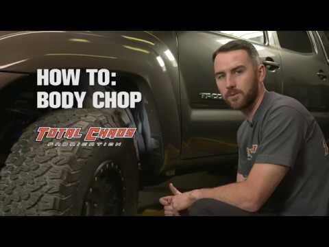 How To Install Body Mount Chop Plates: Total Chaos Fabrication