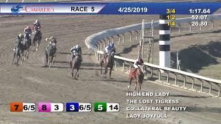 Carrera 5 25/Abril/2019 (High End Lady)
