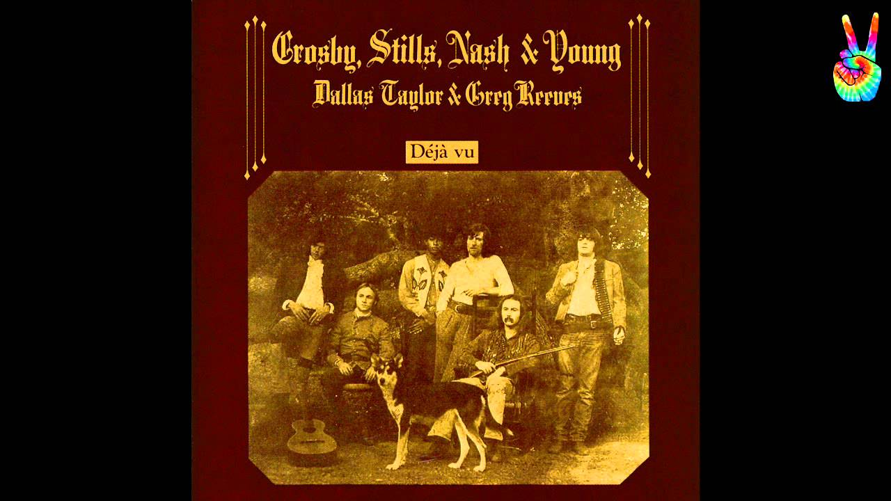 Crosby, Stills, Nash & Young - 12 - Almost Cut My Hair (by EarpJohn)