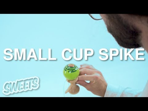 How to SMALL CUP SPIKE - Sweets Kendamas Tutorial