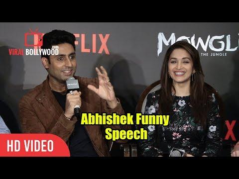 Abhishek Bachchan Funny Speech At Mowgli Hindi Web Series Press Conference