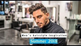 Kochi ft Mr.Salvatore . Men´s Summer Hairstyle #NEW2018