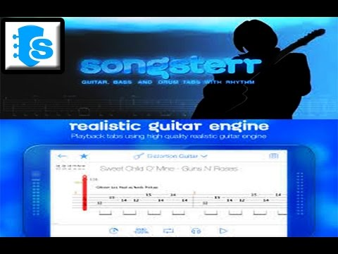 ★ SONGSTERR GUITAR TABS & CHORDS ★ ---ANDROID APPLICATION ★