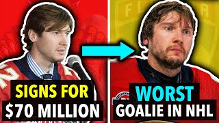 6 NHL Players Who STOPPED TRYING After Cashing In