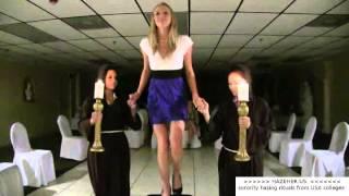 college sorority girls in hazing ritual - hazeher