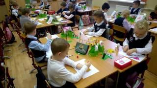 Урок окр. мира в 1 классе