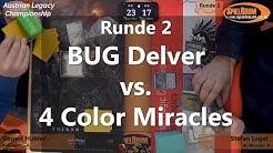 Legacy Championship Finale 2019: Runde 2 - BUG Delver VS. 4C Miracles [Deutsch]