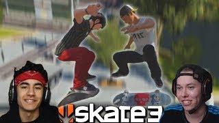 Skate 3 with ZexyZek   EASY vs HARDCORE Game of Skate