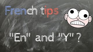 Easy French Lesson #2 | How to use EN and Y in french ? (Subtitles)