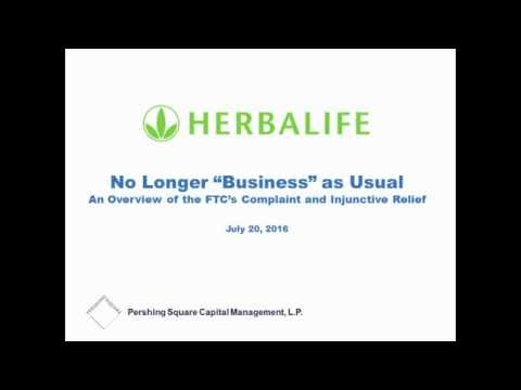 """It's no longer """"business"""" as usual at Herbalife"""