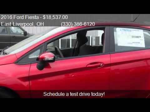 2016 Ford Fiesta SE 4dr Sedan for sale in East Liverpool, OH
