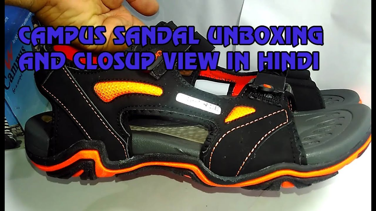 Campus sandal review in Hindi  ₹639 with Round view - YouTube f1f0ef8b6ac1